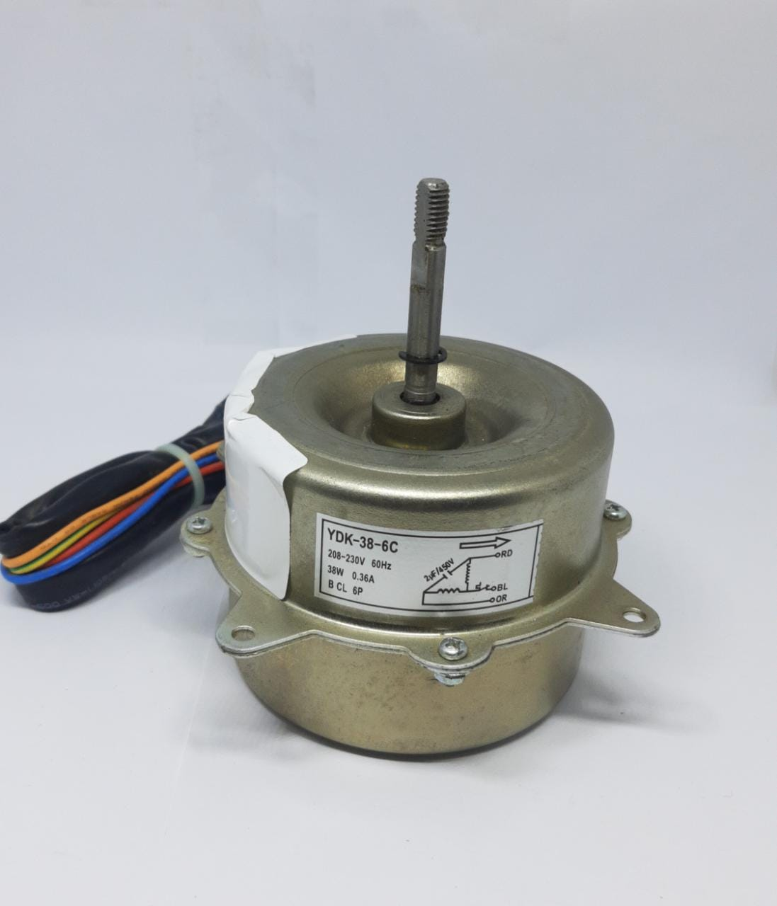 Motor Ventilador Condensadora 18.000 Btus Agratto Acs18 Original