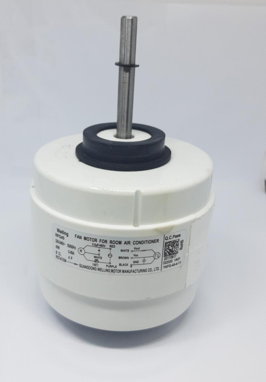 Motor Ventilador Evaporadora 30.000 Btus Agratto Fit Ccs30 Original