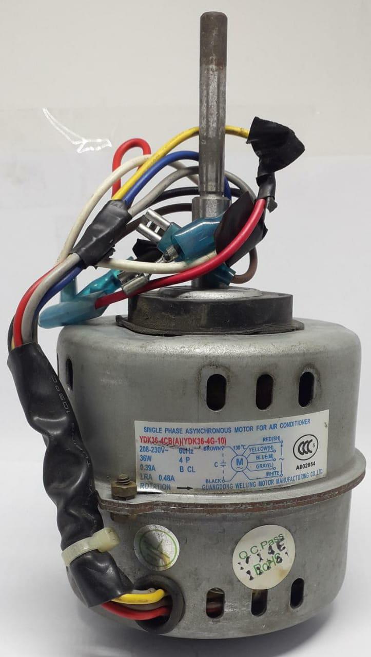 Motor Ventilador Evaporadora Carrier Split Hi Wall 22.000btu/H 42luqa022515lc (USADO)