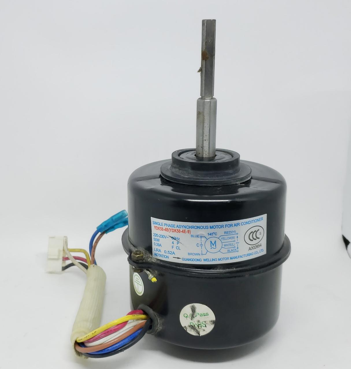 Motor ventilador Evaporadora Electrolux 30.000 btus SI30R (usado)