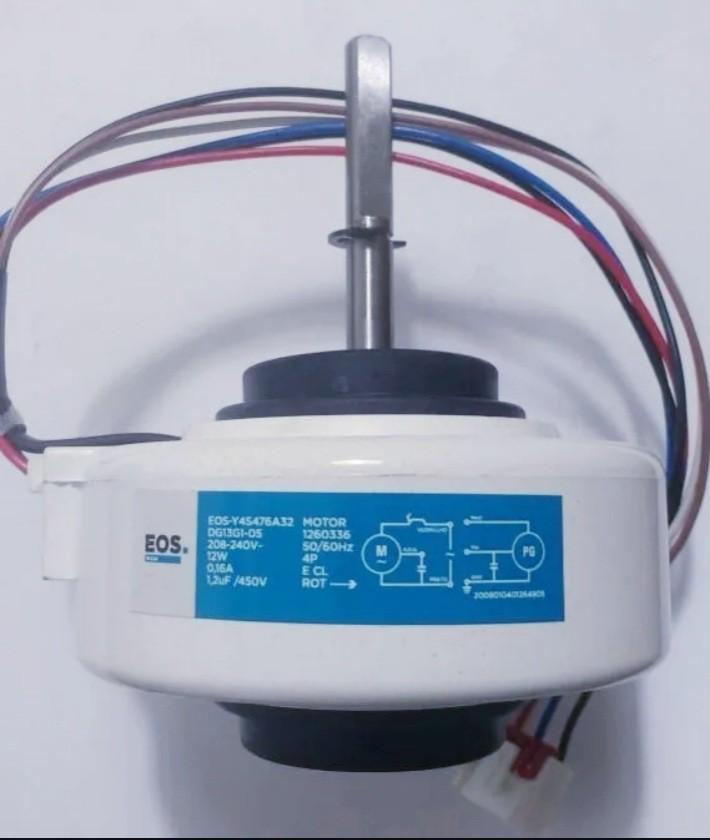 Motor Ventilador Evaporadora Universal 7.000/ 9.000/ 12.000 Btus Y45476a32 Eos