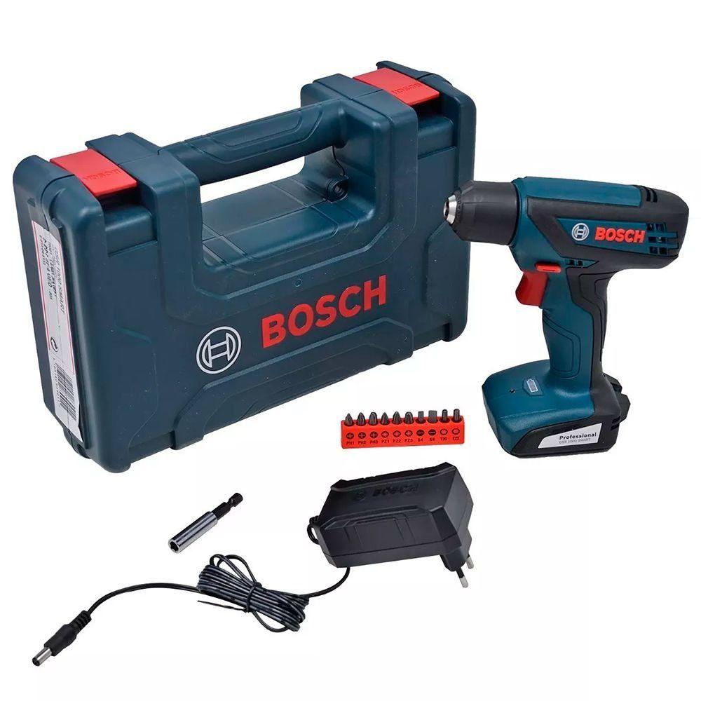 Parafusadeira e Furadeira Elétrica 12V GSR 1000 Smart Bosch