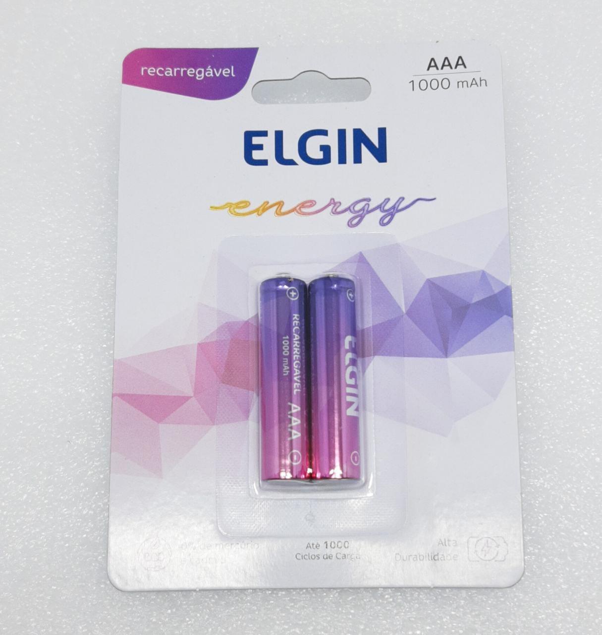 Pilha Recarregável Elgin Aa-2500 Mah (blister C/2)