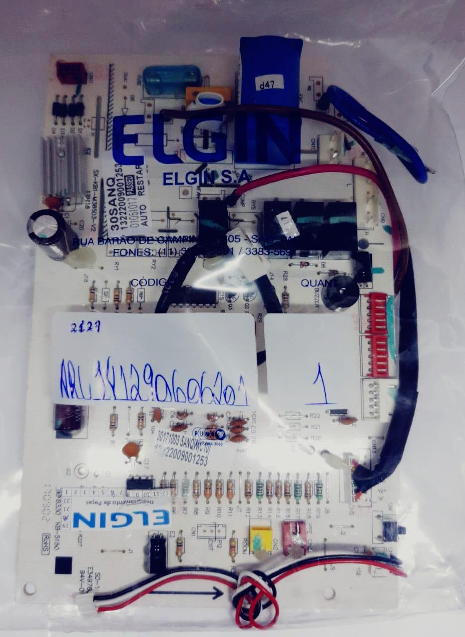 Placa Evaporadora 30.000 Btus Fria Hefi30b2ia Elgin