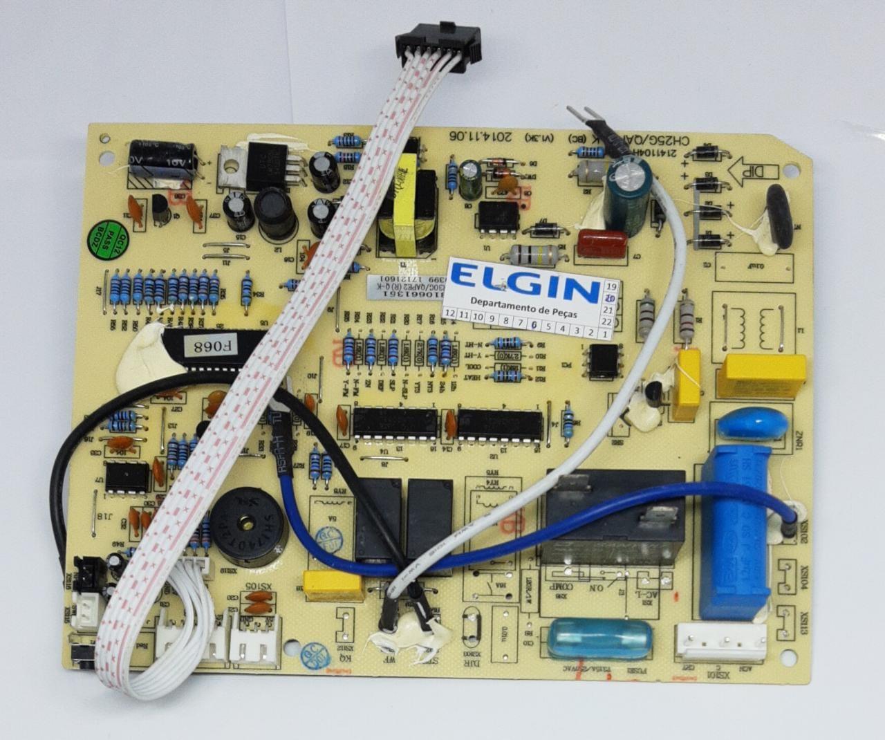 Placa Evaporadora 9.000 Btus Ecologic Q/F HLQI09B2FA Elgin