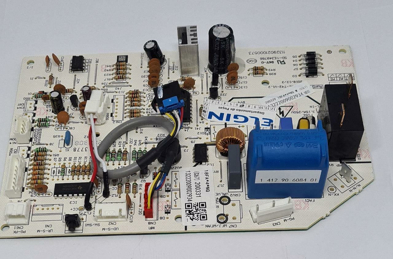 Placa Evaporadora Inverter Q/f 18.000 Btus HVQI18B2IA Elgin
