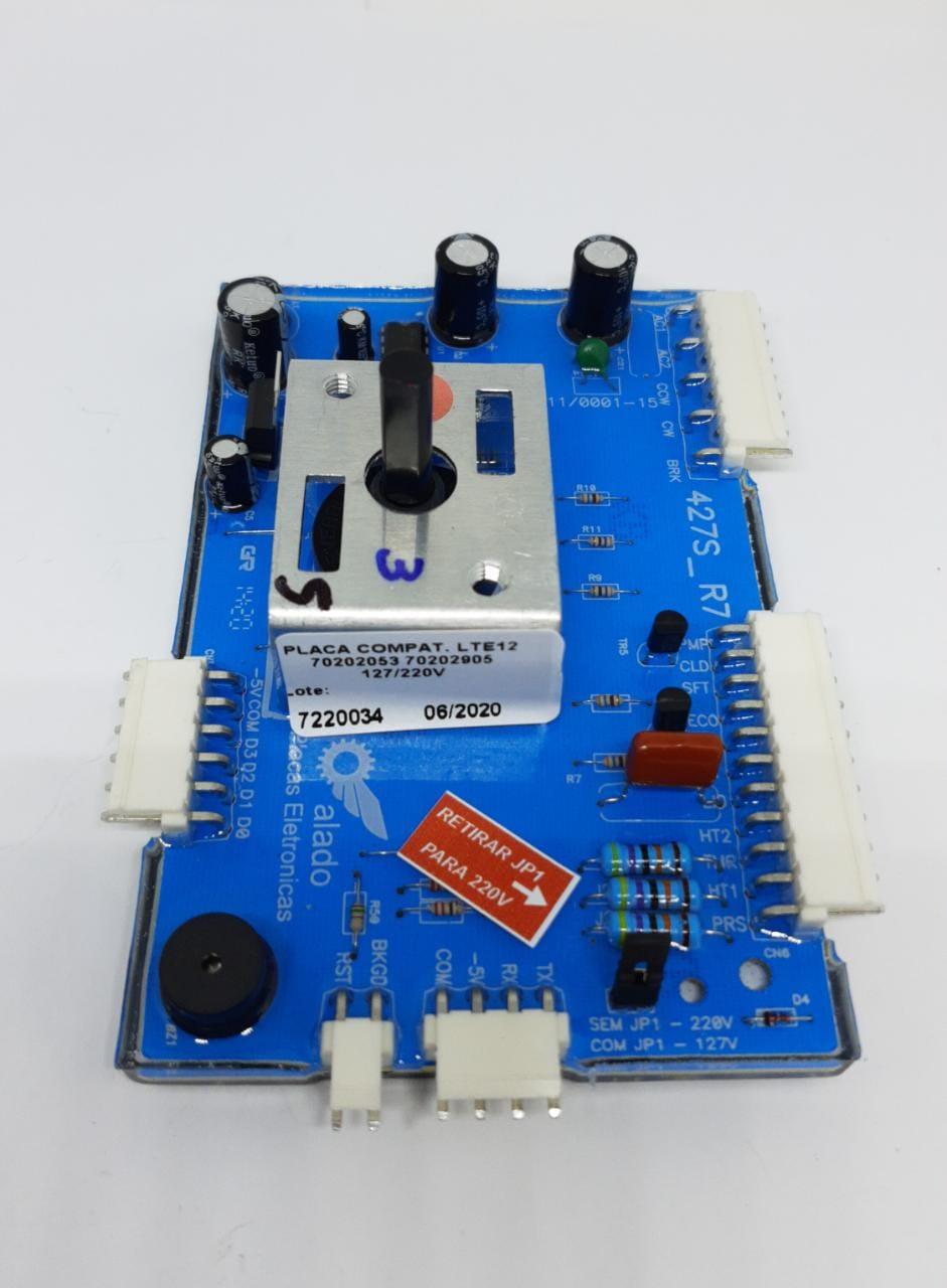 PLACA DE POTENCIA ELECTROLUX  LTE12 - 70202053 70202905 127/220V - ALADO
