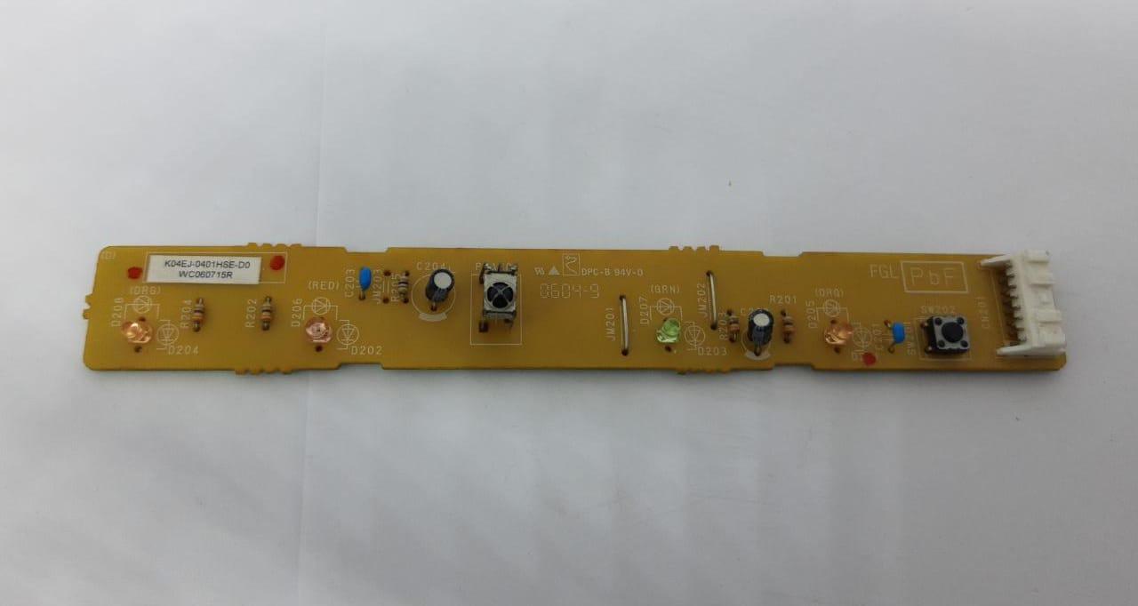 Placa display receptora da evaporadora Fujitsu 18.000 a 30.000 btus