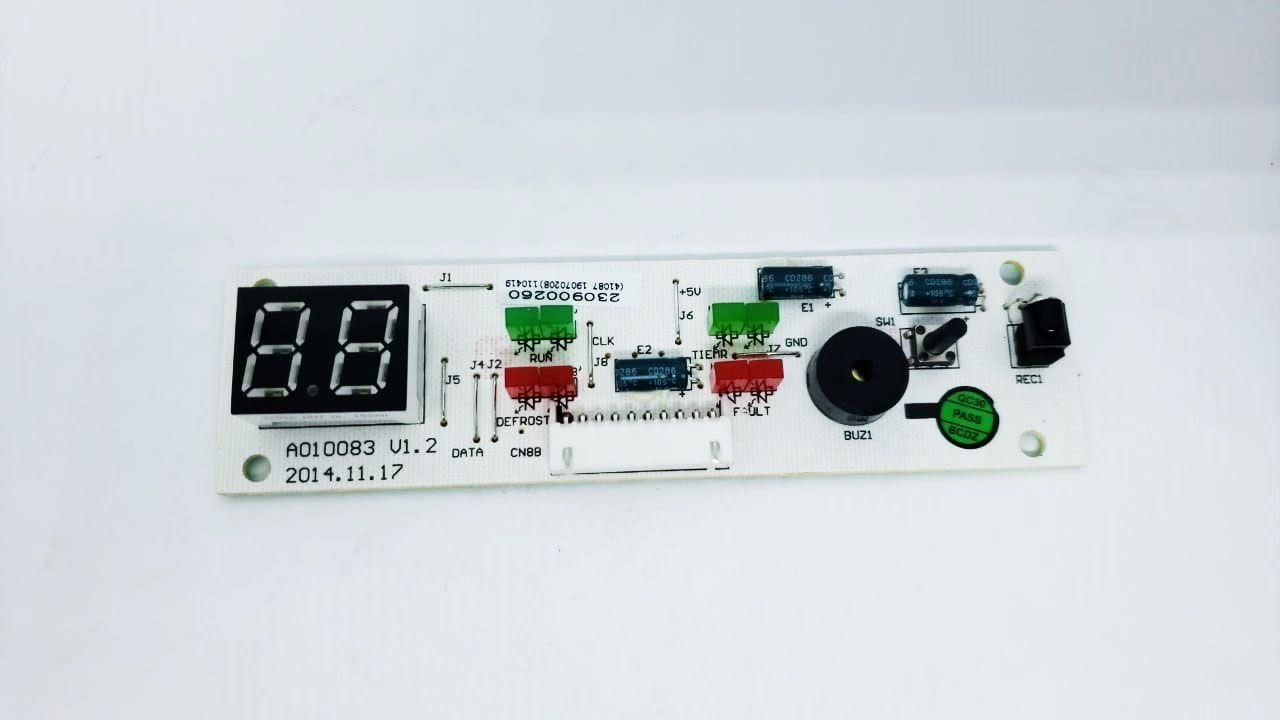 Placa Display Receptora Elgin 24000 A 80000 Btu Piso Teto