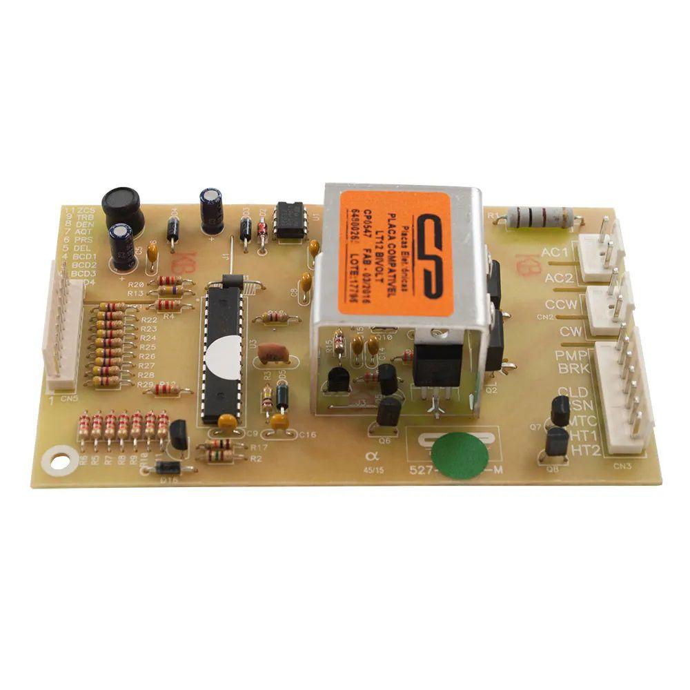 Placa Eletrônica de Potência Lavadora Electrolux LT12 Bivolt