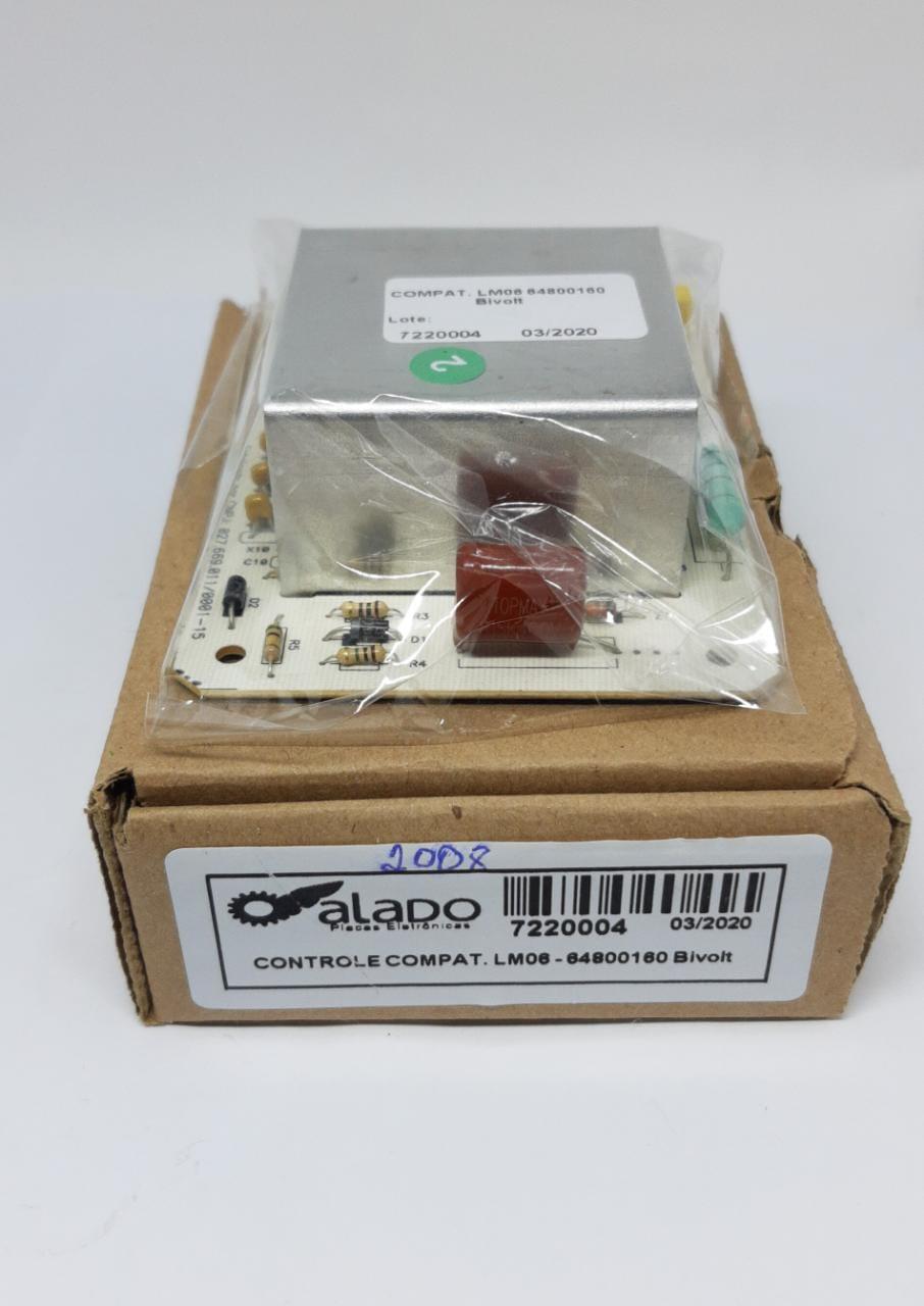 Placa Eletrônica Electrolux Lm06, Lm06a, Lt75, Lf80, Lq75 - 64800160 127/220v - Alado
