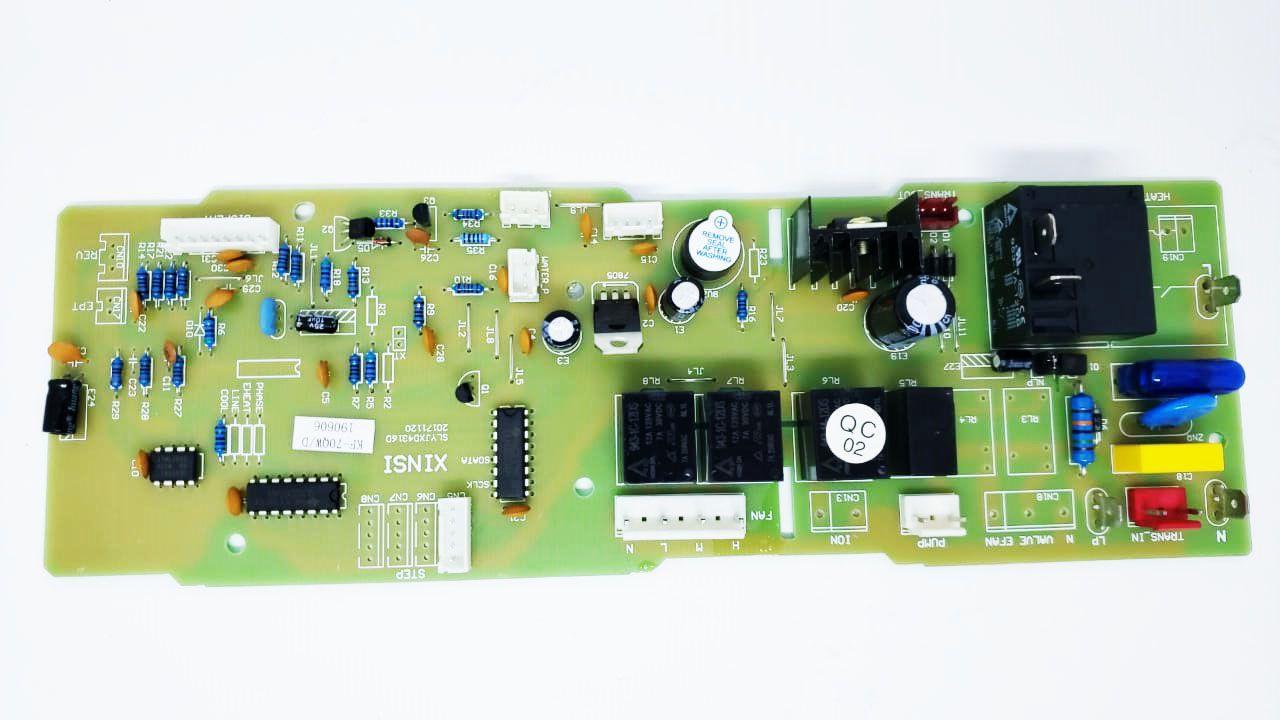 Placa Eletrônica Evaporadora Cassete K7 Elgin 24000 A 60000 Btus Fria KBFI240002 KBFI360002  KBFI480002  KBFI600002  KTFI24B2IA  KTFI24B2IC  KTFI36B2IA  KTFI36B2IC  KTFI48B2IA  KTFI48B2IC  KTFI60B2IA