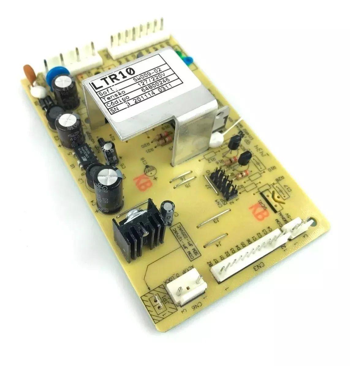 Placa Eletrônica Lavadora Electrolux Ltr10 64800246