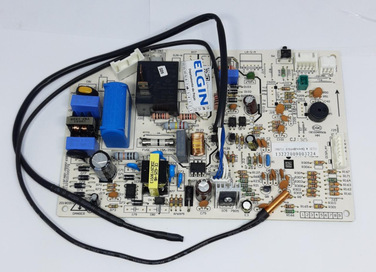 Placa Evaporadora 9.000 Btus Inverter Fria HVFI09B2IA HVFI09B2IB Elgin