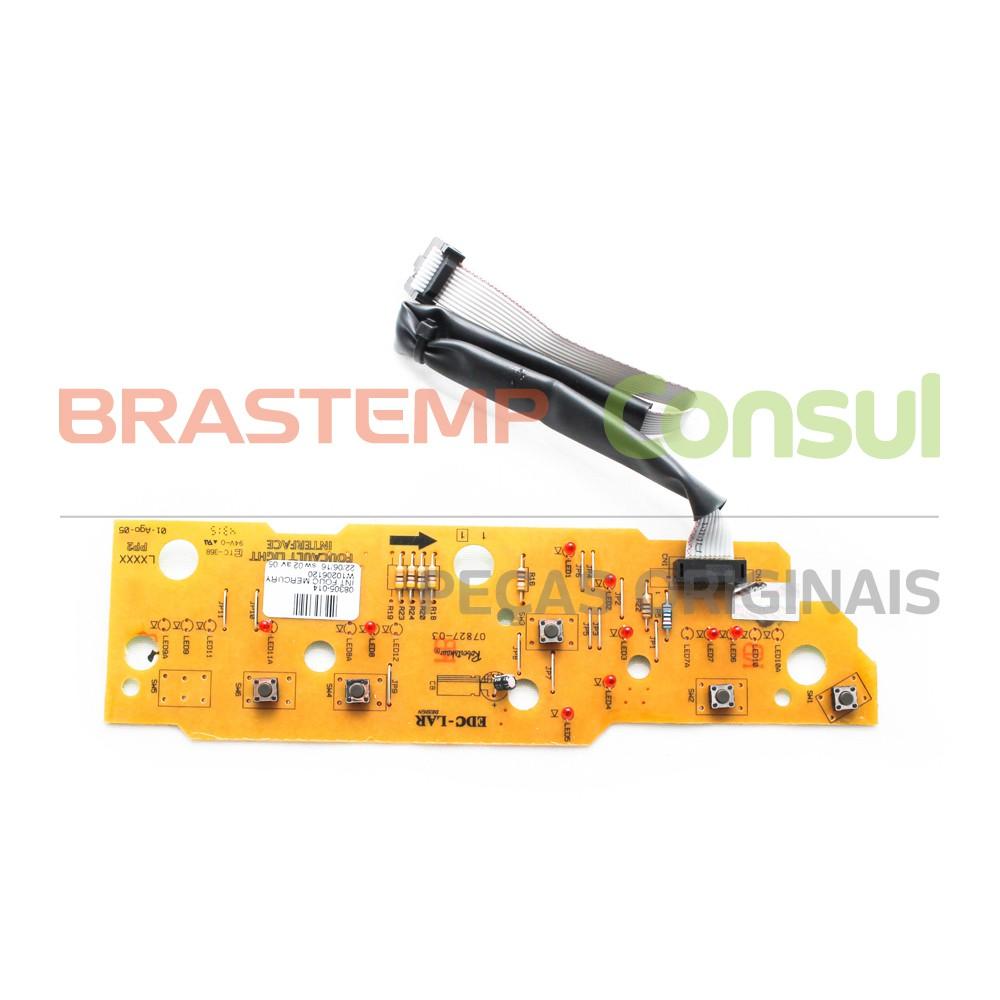 Placa Interface Bwc07a Bwc08a Brastemp Original W10206120 BIVOLT
