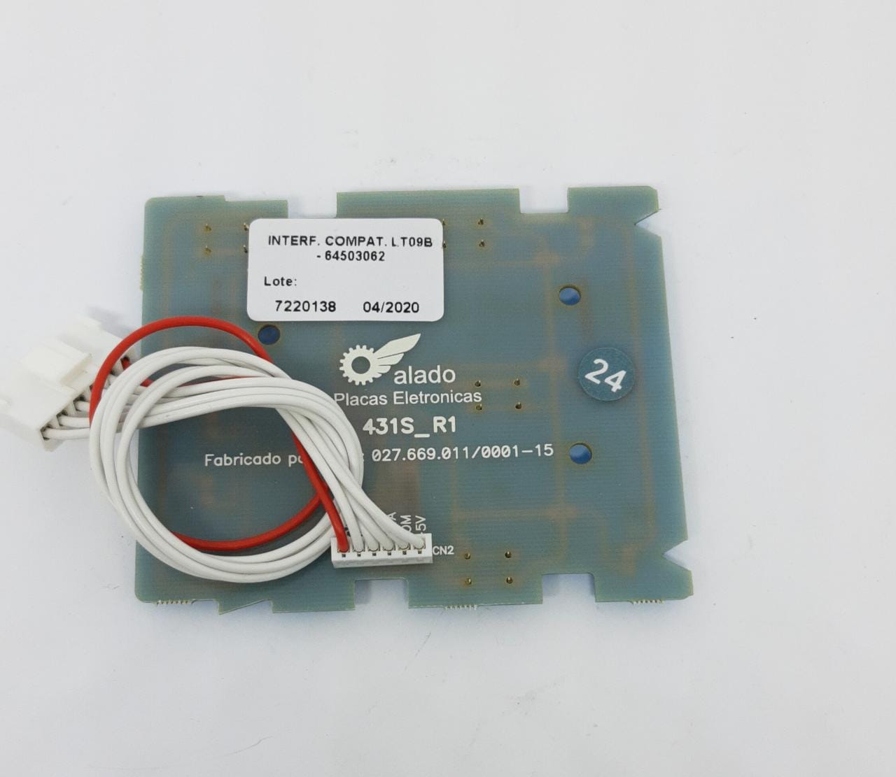Placa Interface Electrolux Lt09b Lte08 64503062 - Alado