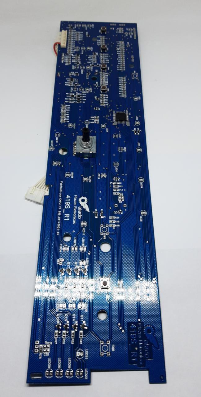 Placa Interface Brastemp Bwl11 - W10301604  - Alado