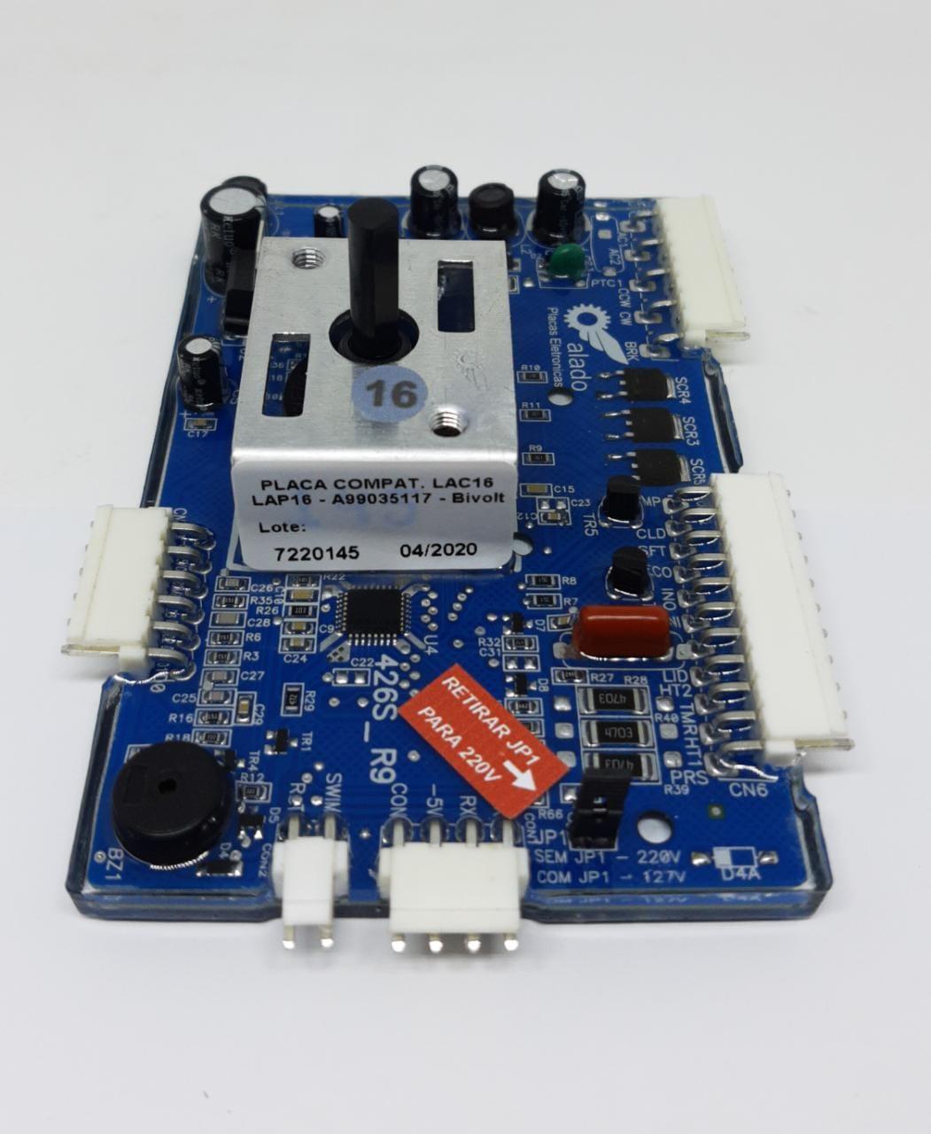 Placa Potencia Electrolux Lac16 Lap16 099035117 - Alado