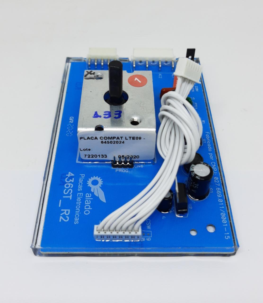 Placa Potencia Electrolux Lte09 70202145 / 70295148 / 70295146- Alado