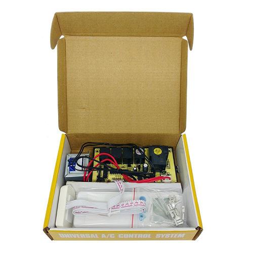 Placa Universal para Ar Condicionado com Controle Remoto Completa QD-U02B+