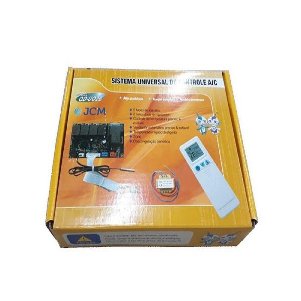 Placa Universal para Ar Condicionado com Controle Remoto QD-U02B+ JCM