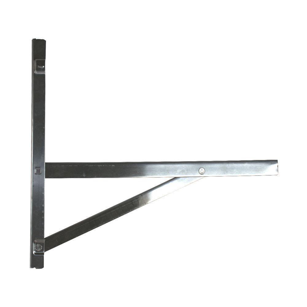 Suporte De Aço Inox Uso Externo De 22 A 30.000 Btus 500x500 MM
