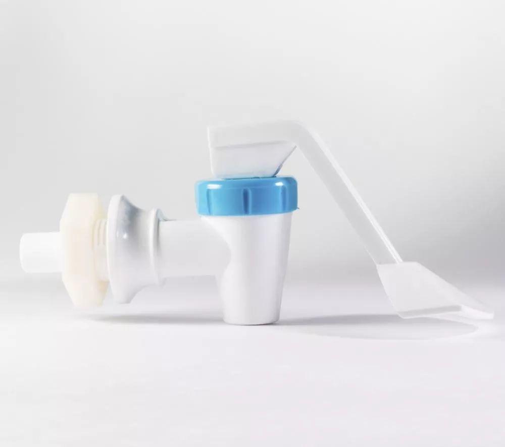 Torneira Acquaflex Stilo Libell Lado Direito - Branca/azul