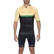 Camisa Ciclismo Supreme Brasil (Amarelo) - Masc - 2020