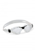 Óculos de Natação Aqua Sphere Kayenne Transparente e Preto - Lente Transparente (1.04.01.05.01)