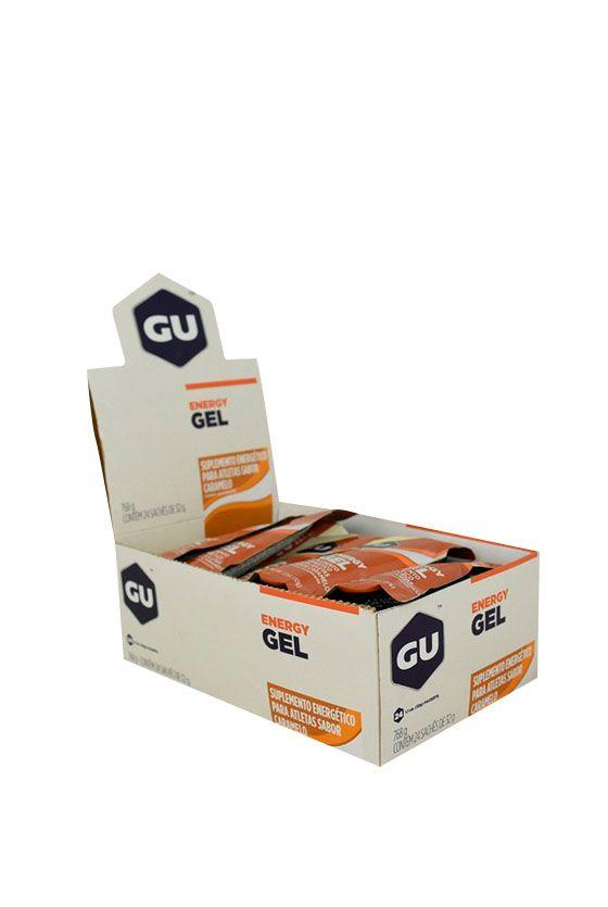 GU Energy Gel Caramelo Caixa - 24 unidades