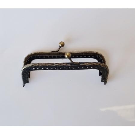 Armação 10cm x 4cm c/ furos p/ costura Ouro Velho