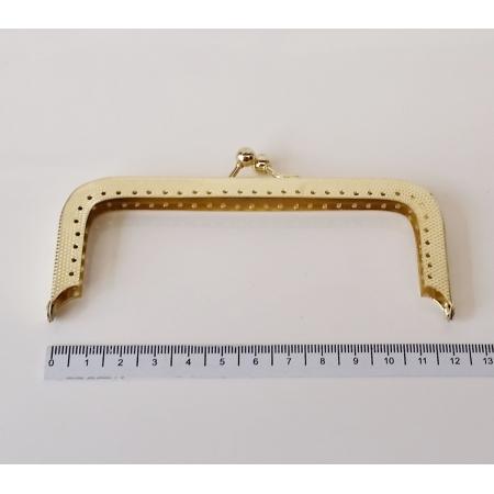 Armação 12cm x 5cm c/ furos p/ costura Latonada