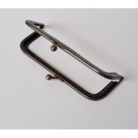 Armação 12cm x 5cm c/ furos p/ costura Ouro Velho
