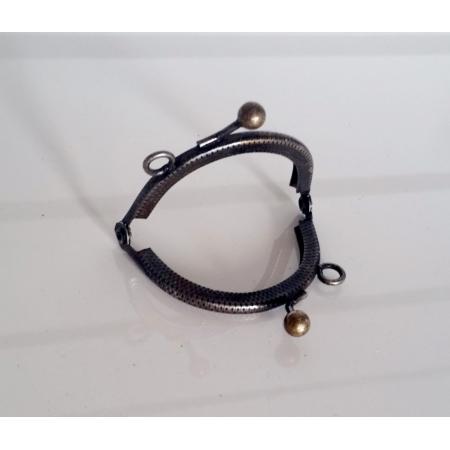Armação Oval 5 cm c/ argolas Ouro Velho