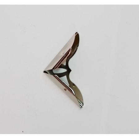 Cantoneira 31mm x 31mm Niquelada