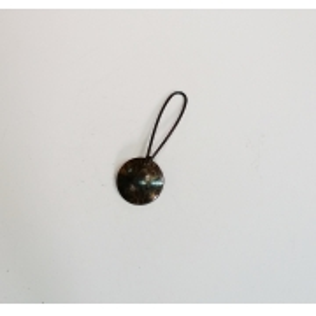 Enfeite Mini Concha Ouro Velho