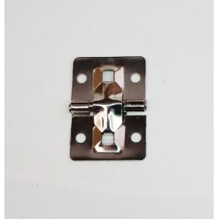 Junção 43mm x 30mm c/ Limitador de Abertura Niquelada