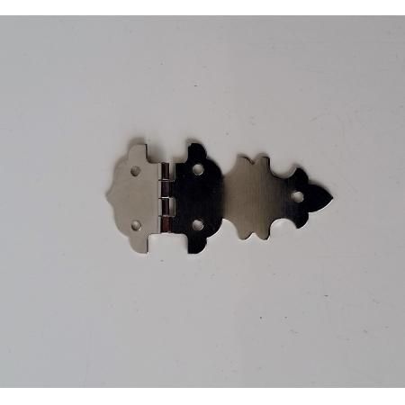 Junção Colonial 28mm x 58mm Niquelada