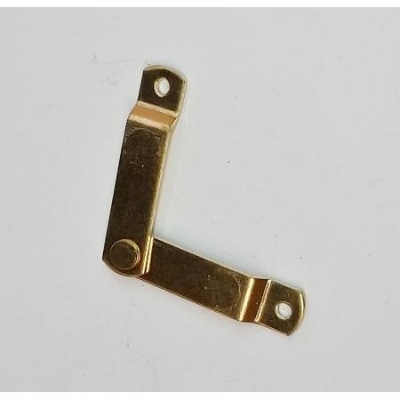 Limitador Articulado p/ Abertura de Caixas Latonado