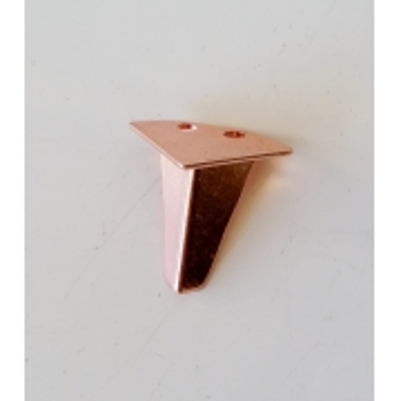 Pé Retrô Pequeno Rosé