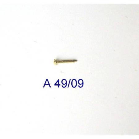Prego Latão 6mm x 0,9mm Latonado