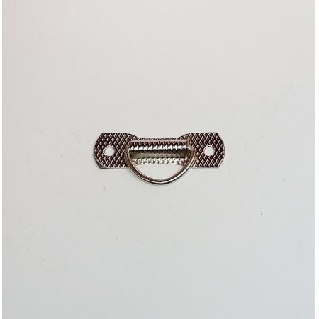 Puxador Gravata Niquelado