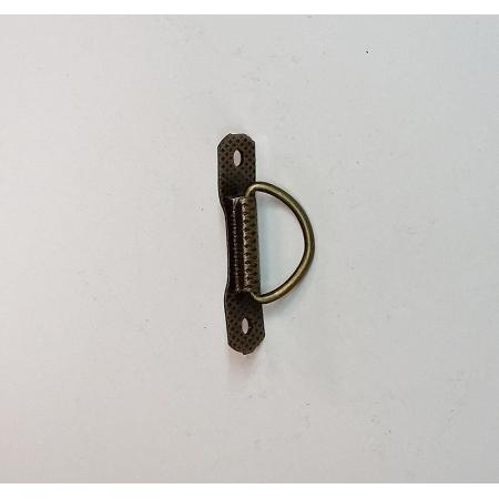 Puxador Gravata Ouro Velho