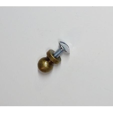 Puxador Latão 11,7mm Ouro Velho