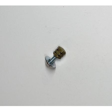 Puxador Latão Sextavado 6,35mm Ouro Velho