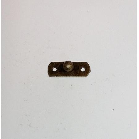 Puxador Retangular (parte A27/08) Ouro Velho