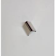 Remate de Alça 18mm c/ Garra Dentada Niquelado