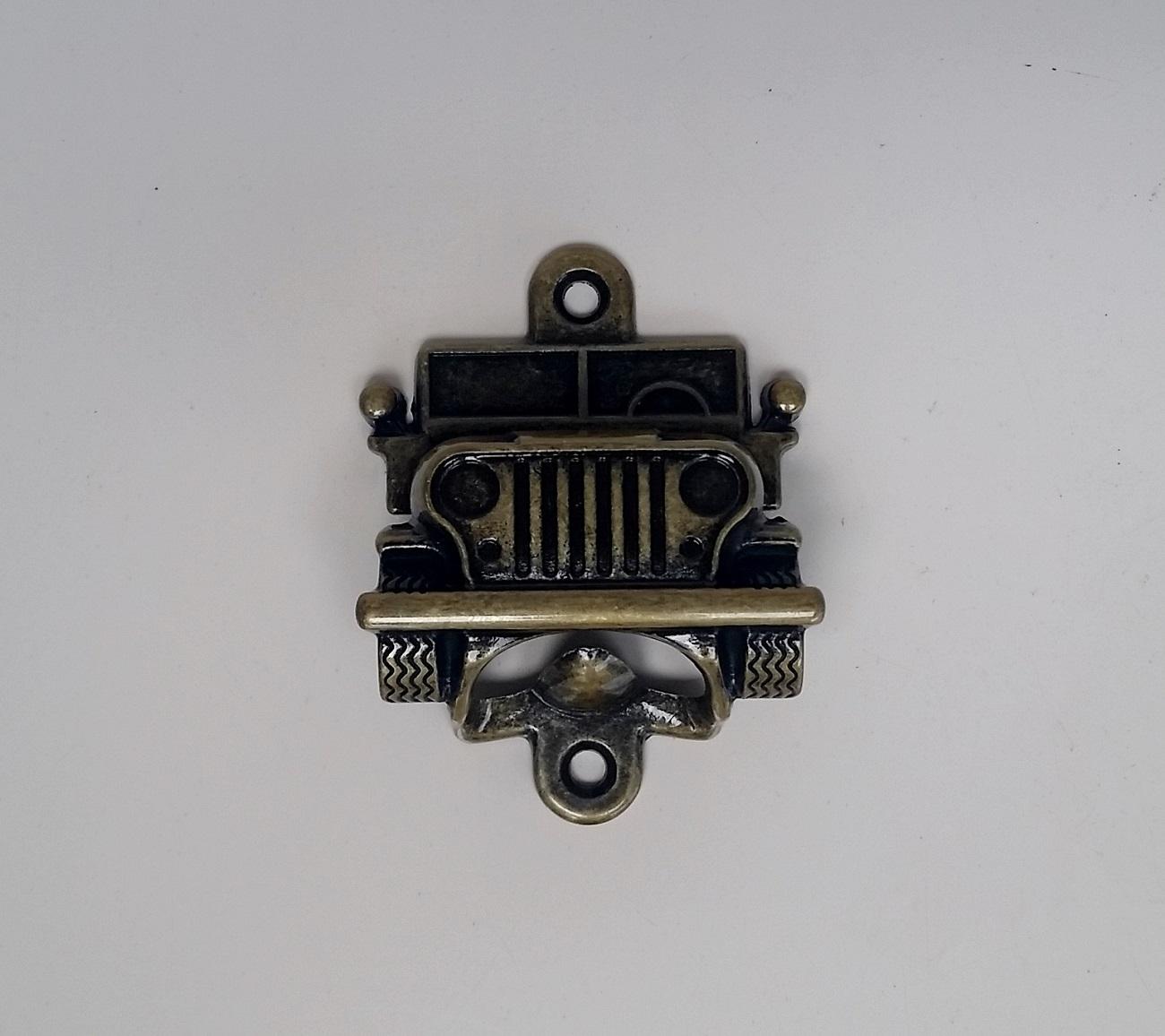Abridor de Garrafa Jeep Ouro Velho