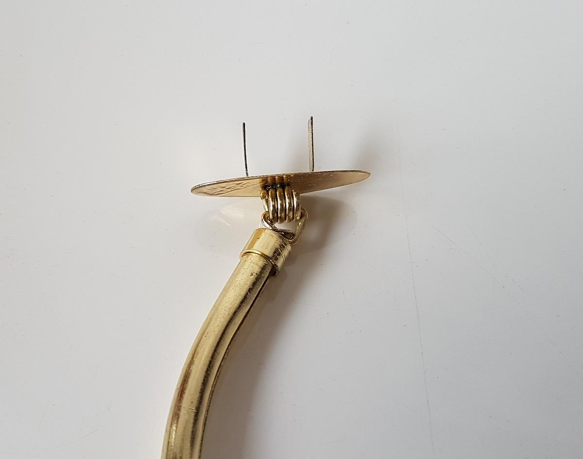 Alça Tubular com garras Latonada