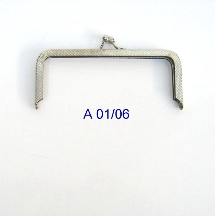 Armação 12cm x 5cm Niquelada